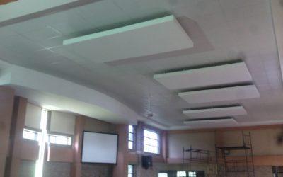 Suspended Ceilings & Bulkhead for Church